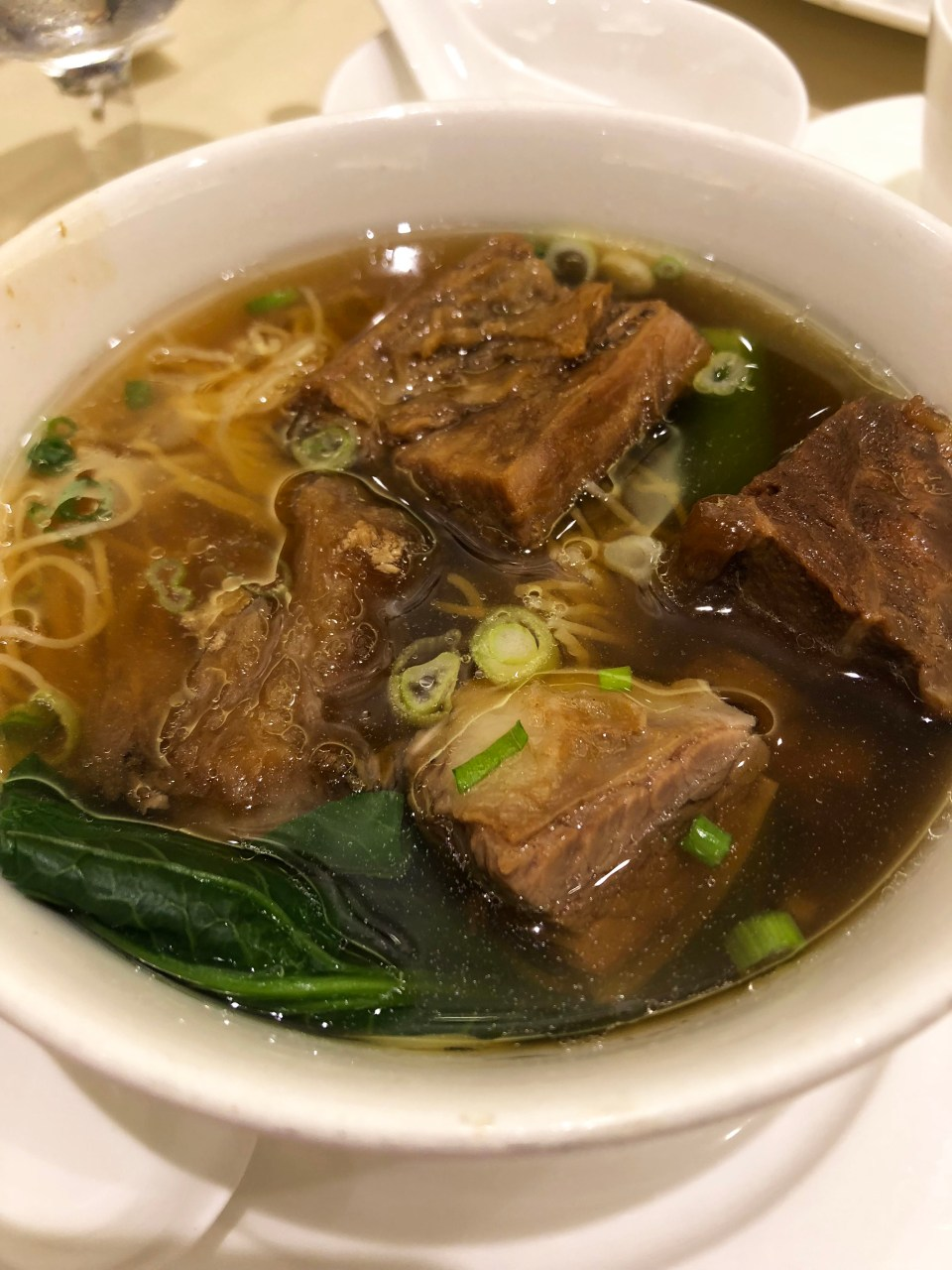 Yung Kee - Soup Noodle + Beef Brisket