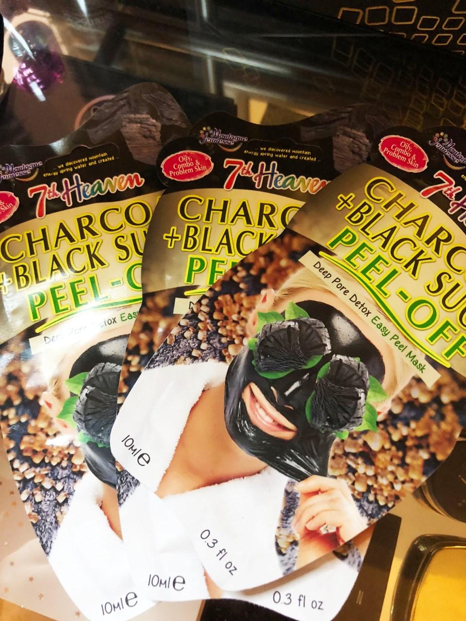 Charcoal & Black Sugar Peel-Off Mask