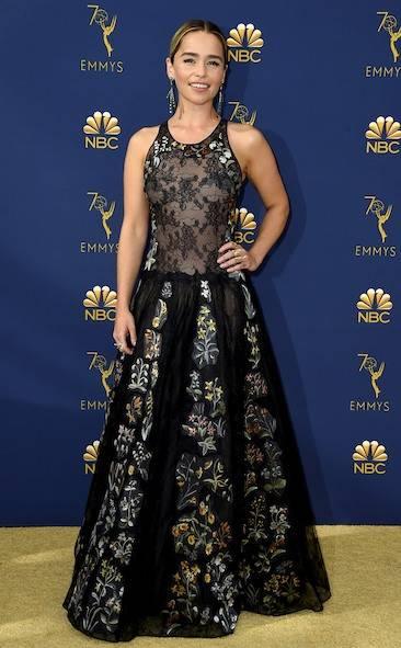Emilia Clarke - Emmy 2018