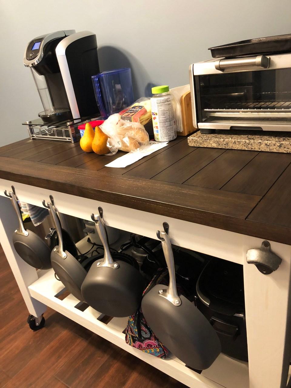 Lindstrom Kitchen Cart 4