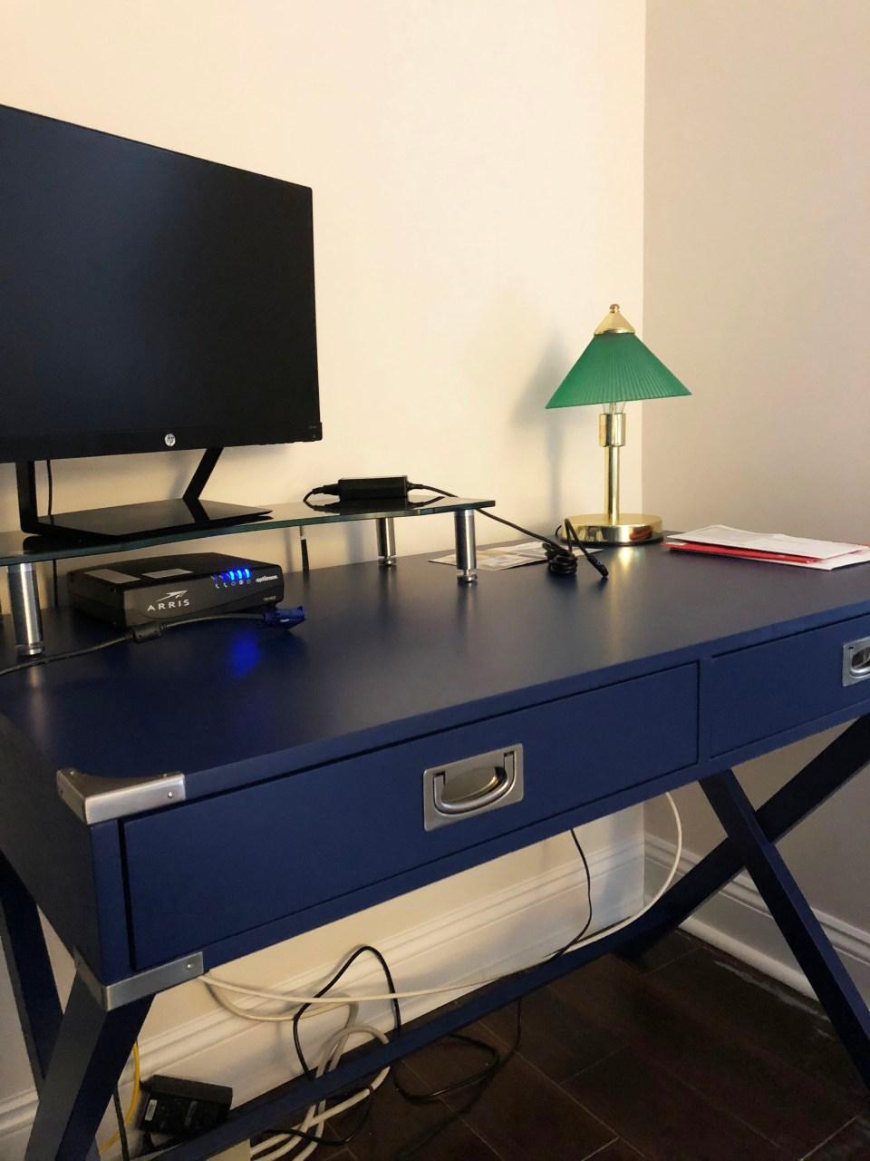 Marotta Campaign Writing Desk 4