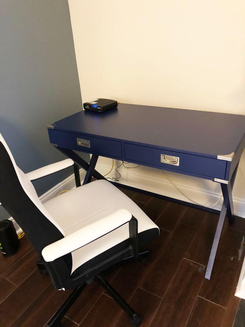 Marotta Campaign Writing Desk