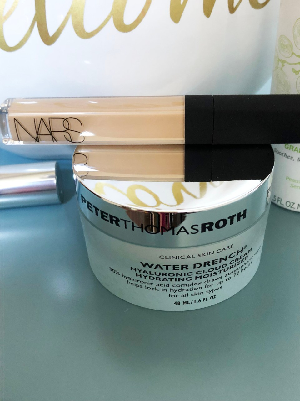 Nars Radiant Creamy Concealer + Peter Thomas Roth Water Drench