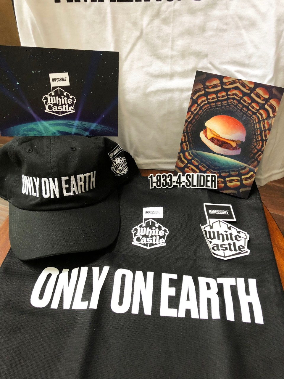 White Caslte - Impossible Burger package 2