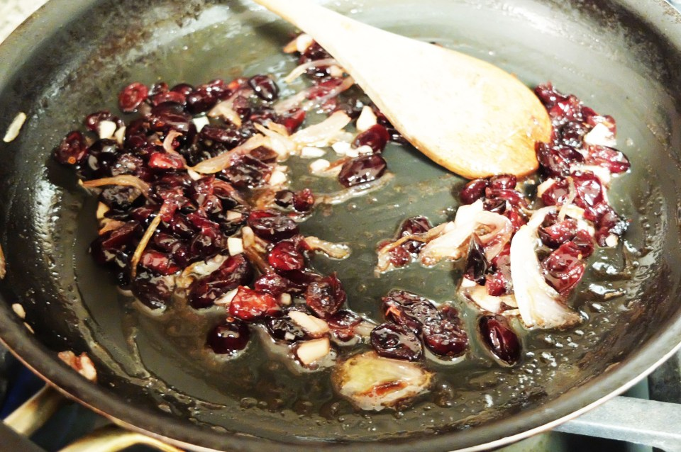 Dried Cranberries + Shallots