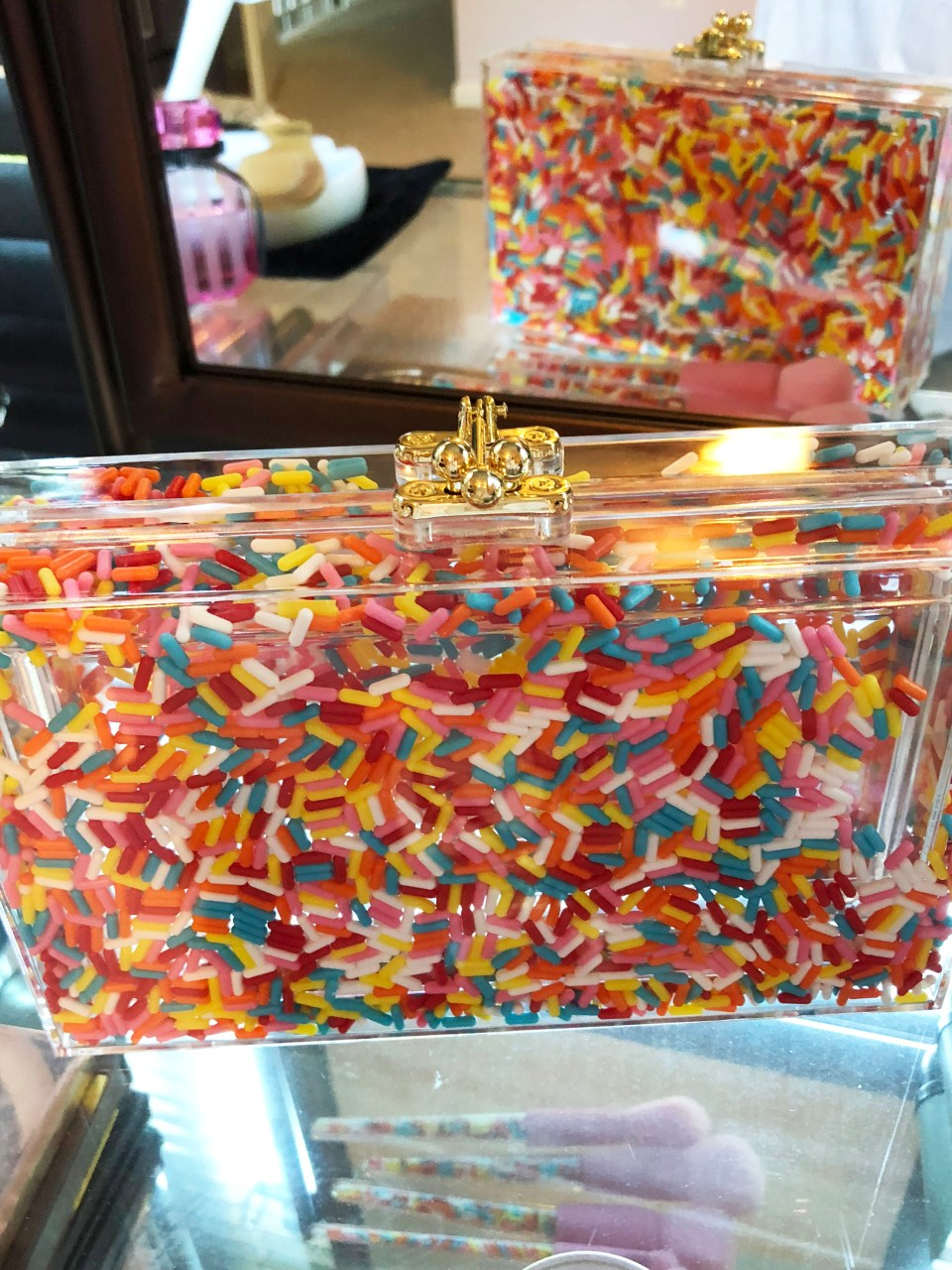 Museum of Ice Cream x Sephora - Sprinkle Clutch