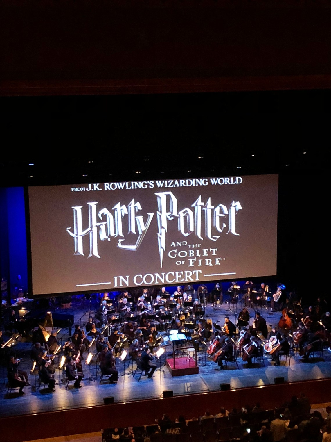 NJPAC Harry Potter & the Goblet of Fire Concert