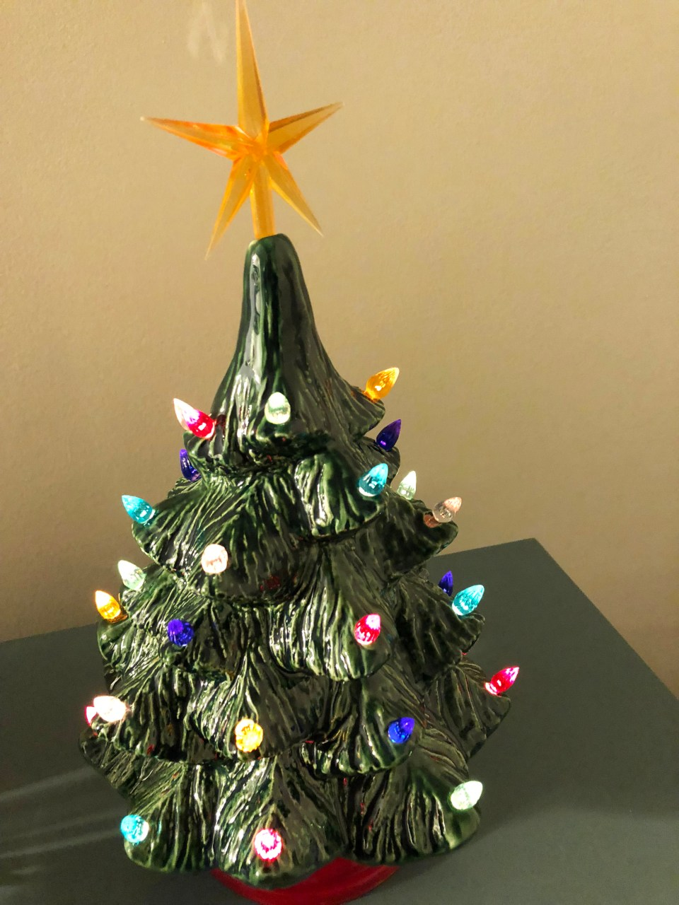 Ceramic Vintage Christmas Tree 3