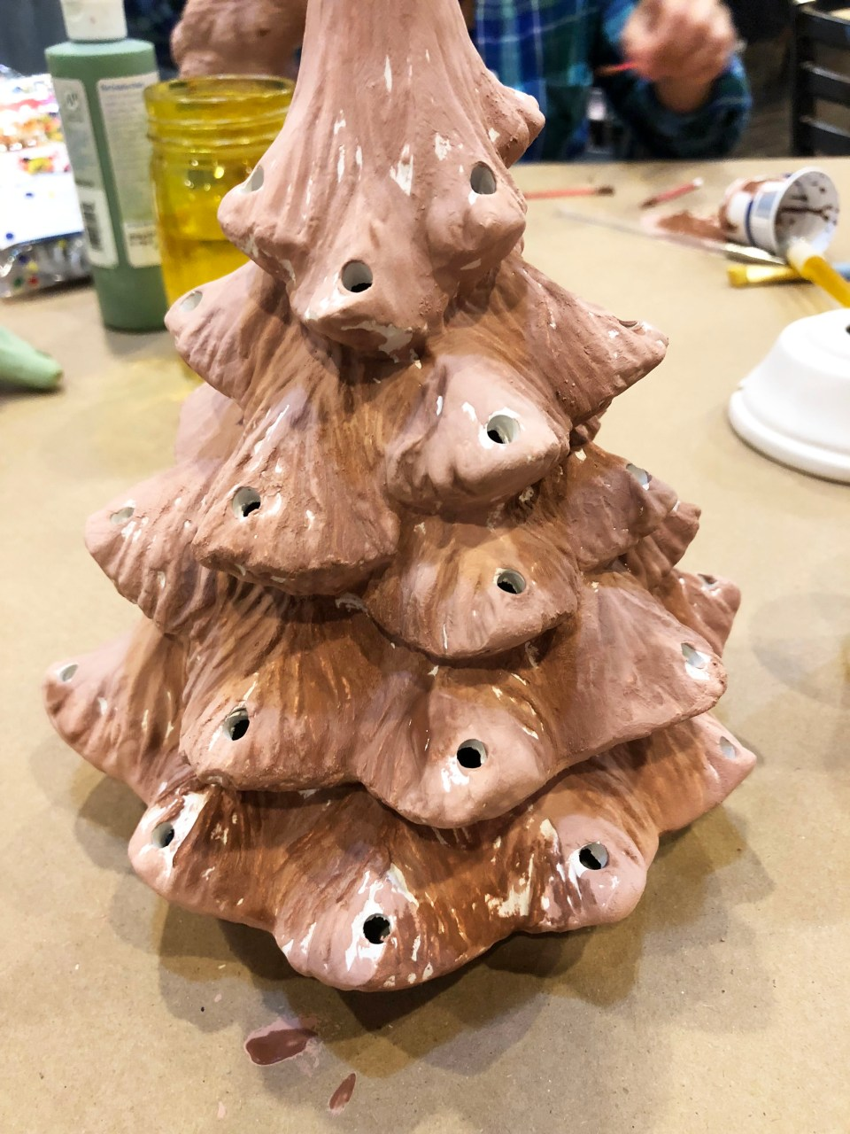 Ceramic Vintage Christmas Tree 7