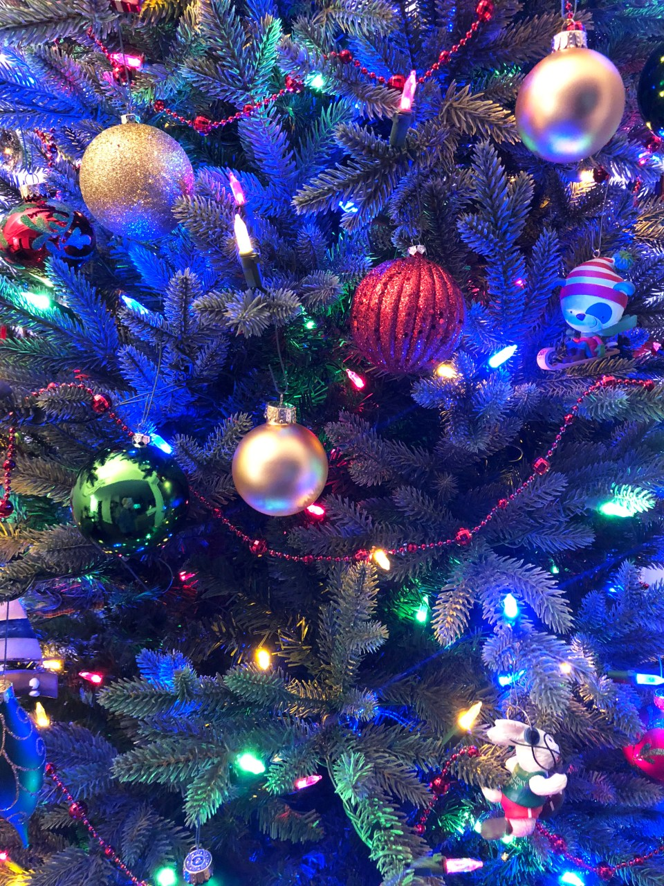 Christmas Tree - Nighttime 8