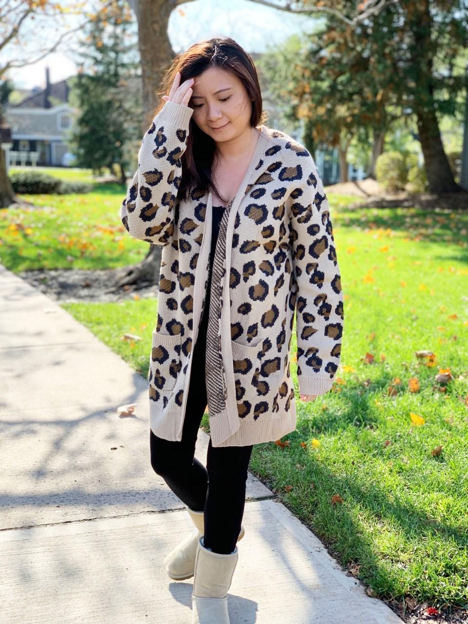 Leopard Cardigan 4