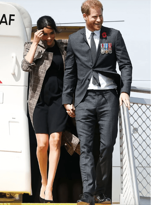 Meghan Markle - Arriving in New Zealand