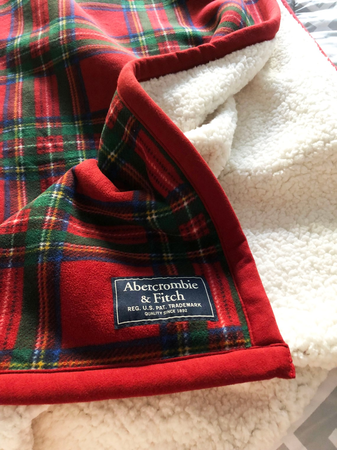 Plaid Sherpa Blanket