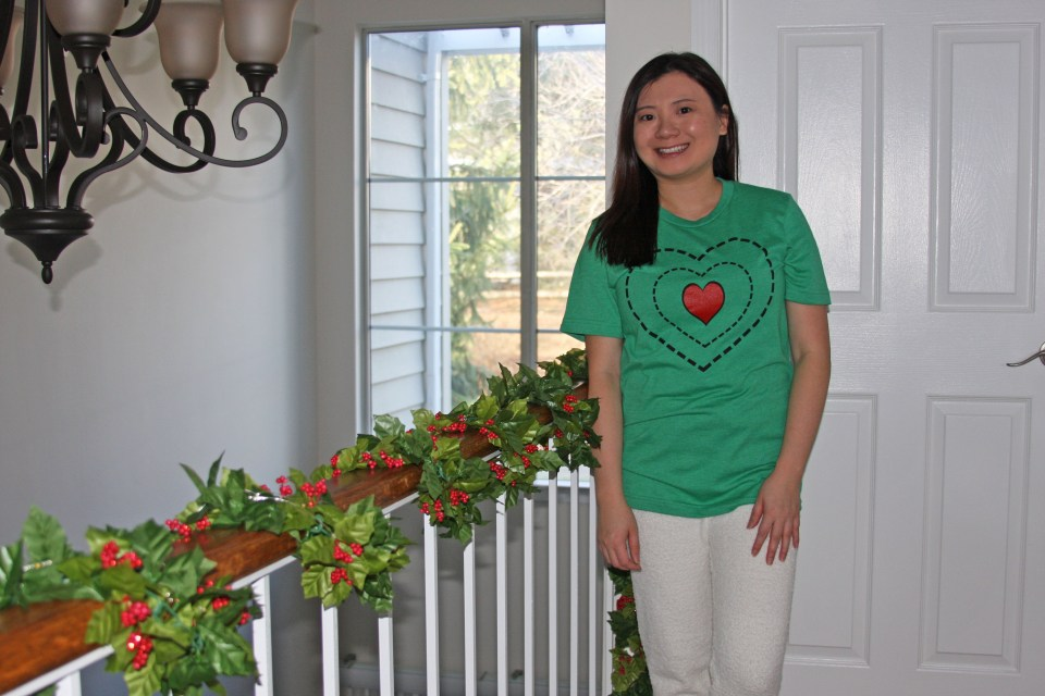 Grinch - Heart Two Sizes Too Small Tee + Teddy Leggings 7