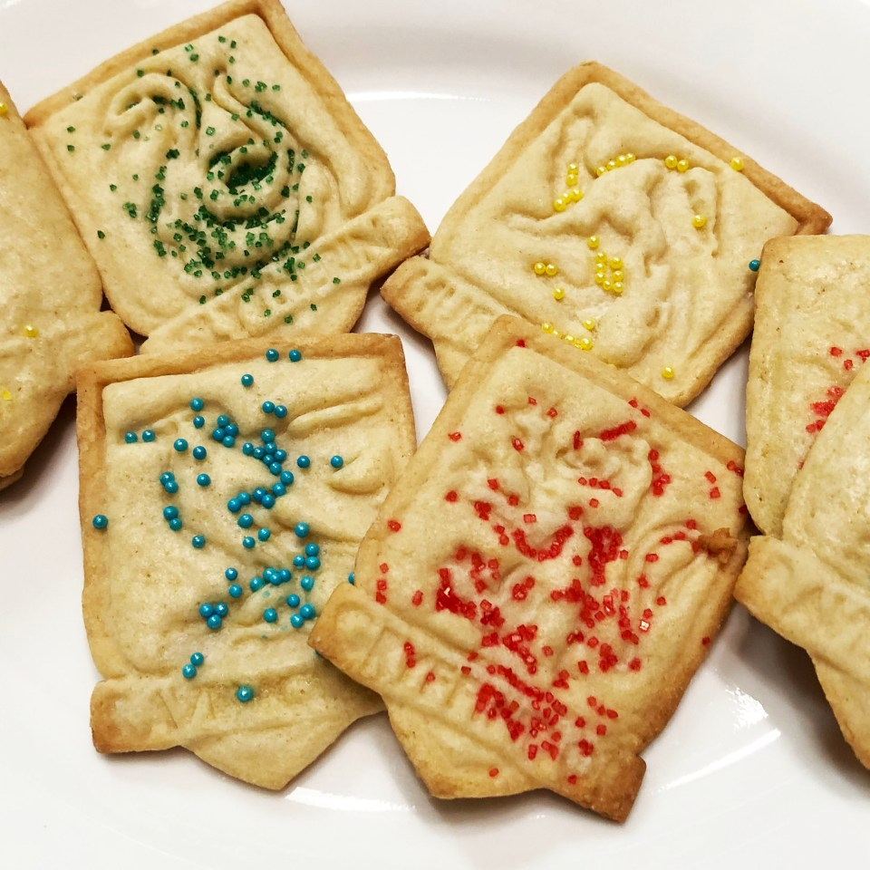 Harry Potter Sugar Cookies 10