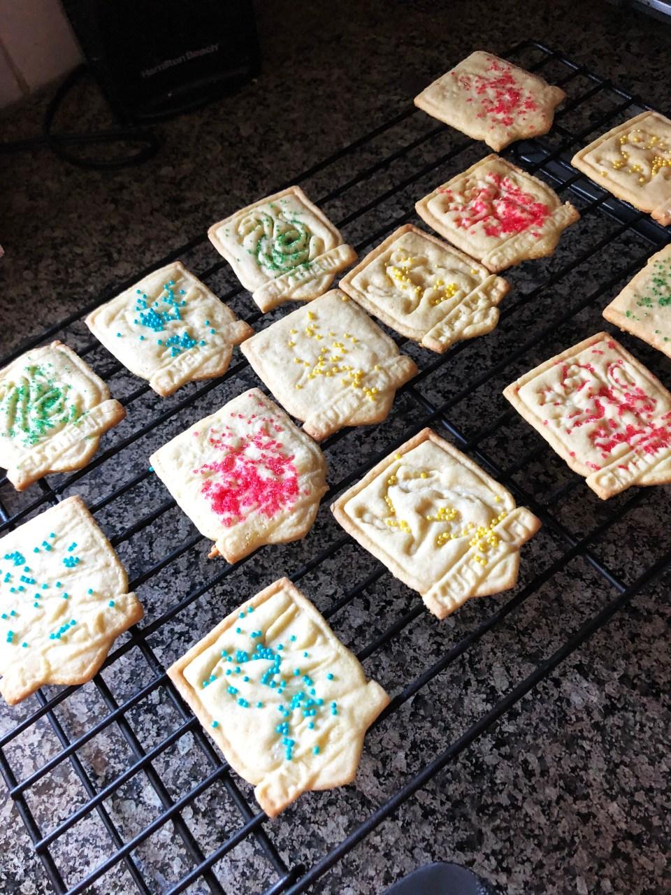Harry Potter Sugar Cookies 5