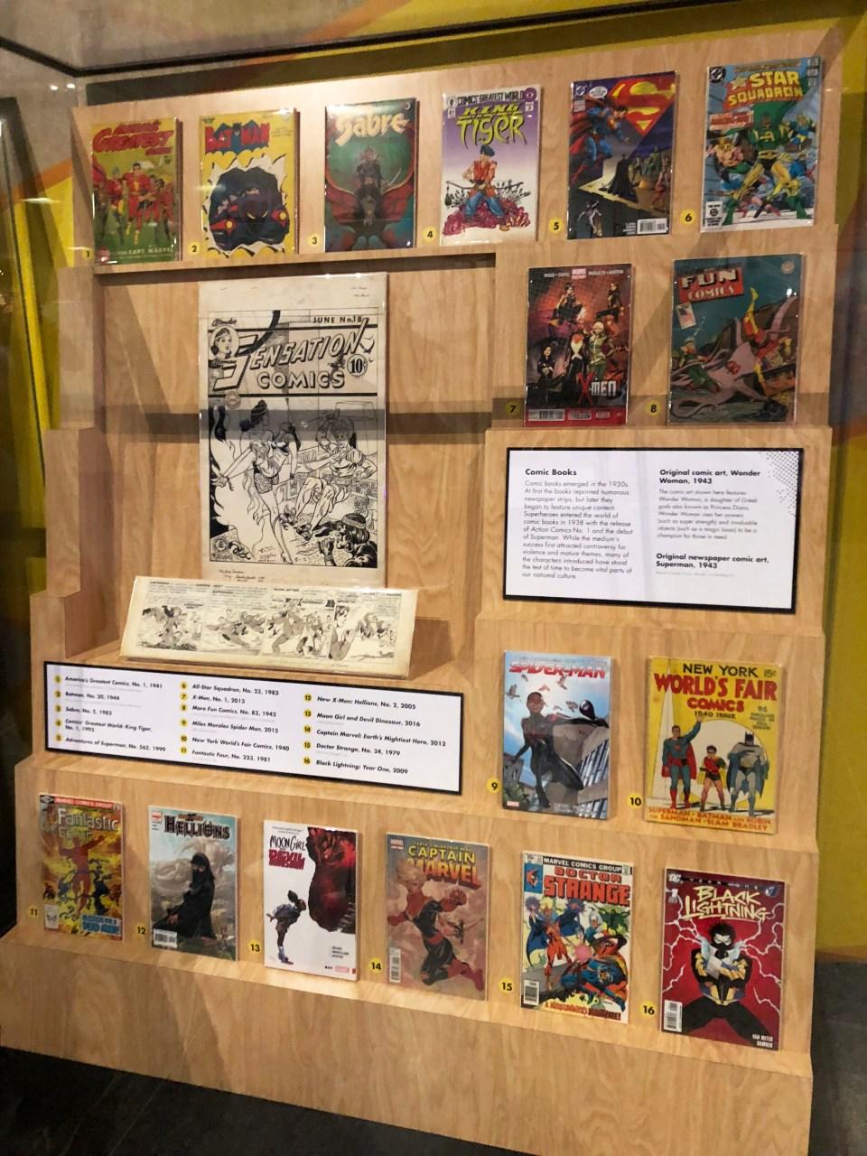 Museum of American History - Superheroes 1