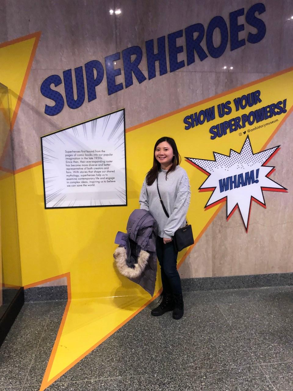 Museum of American History - Superheroes 3