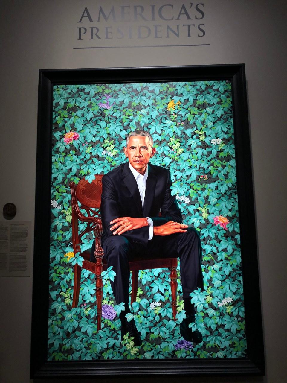 National Portrait Gallery - Barack Obama