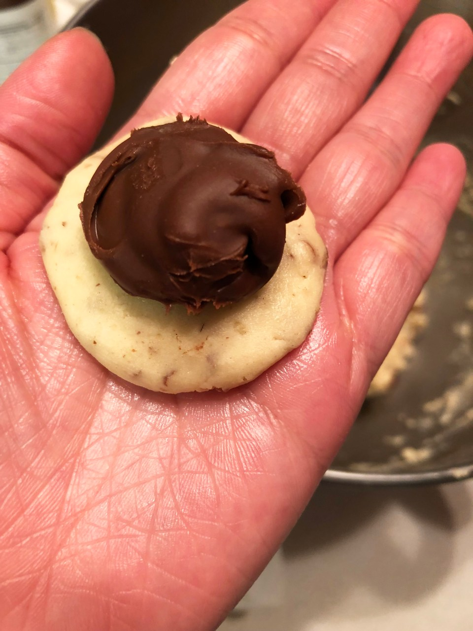 Nutella Snowball Cookie 1