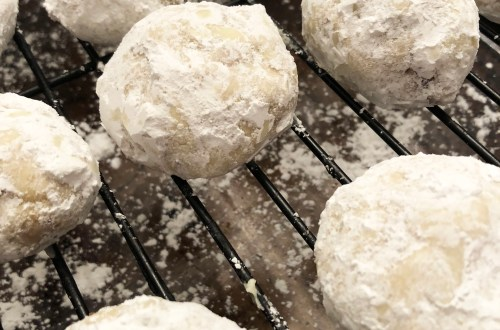Nutella Snowball Cookie