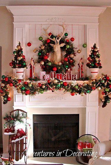Ornament Christmas Mantel