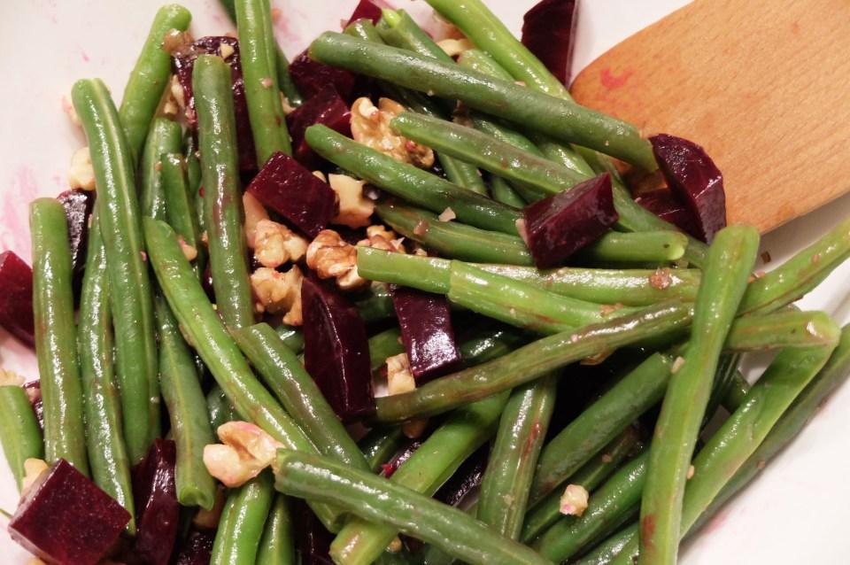 String Bean & Beet Salad 1