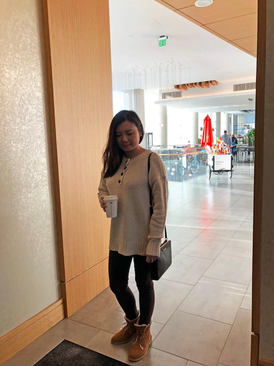Cream Henley Pullover 1