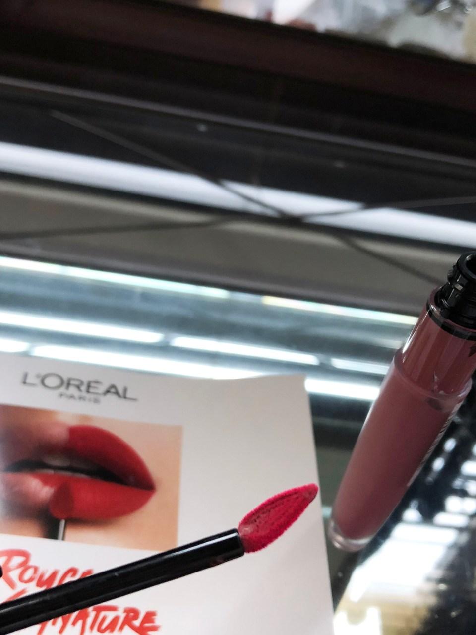 L'Oreal Rouge Signature Matte Colored Ink - I Rule