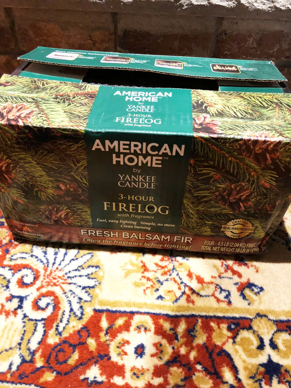 Pine Mountain - American Home by Yankee Candle Fire Log