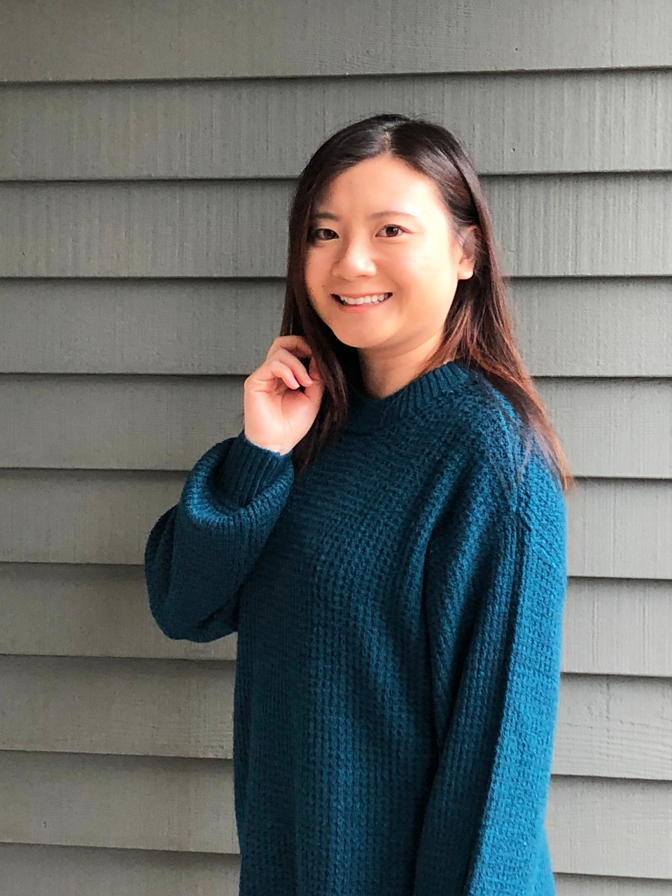 Teal Cloudspun Sweater 2