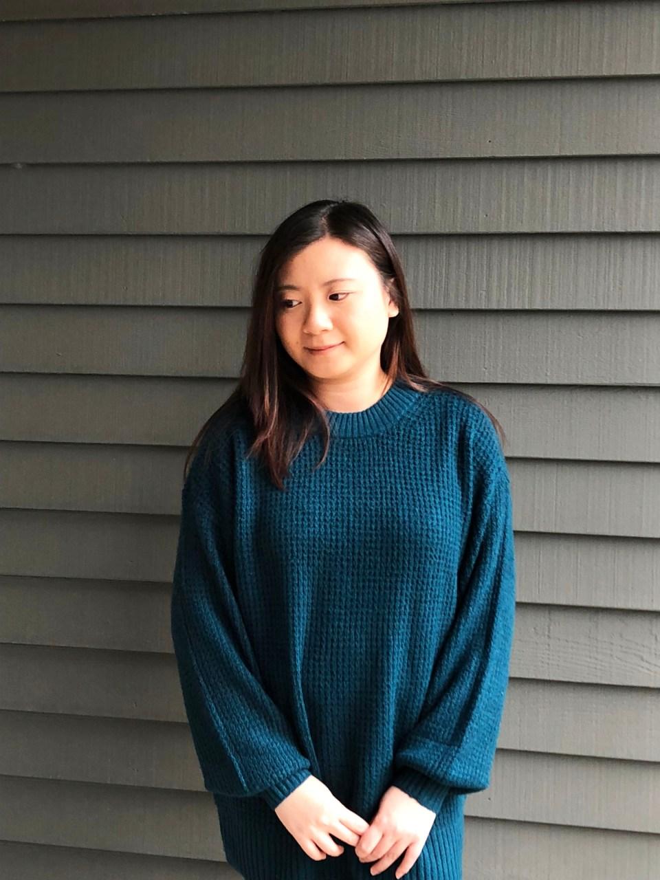 Teal Cloudspun Sweater 6