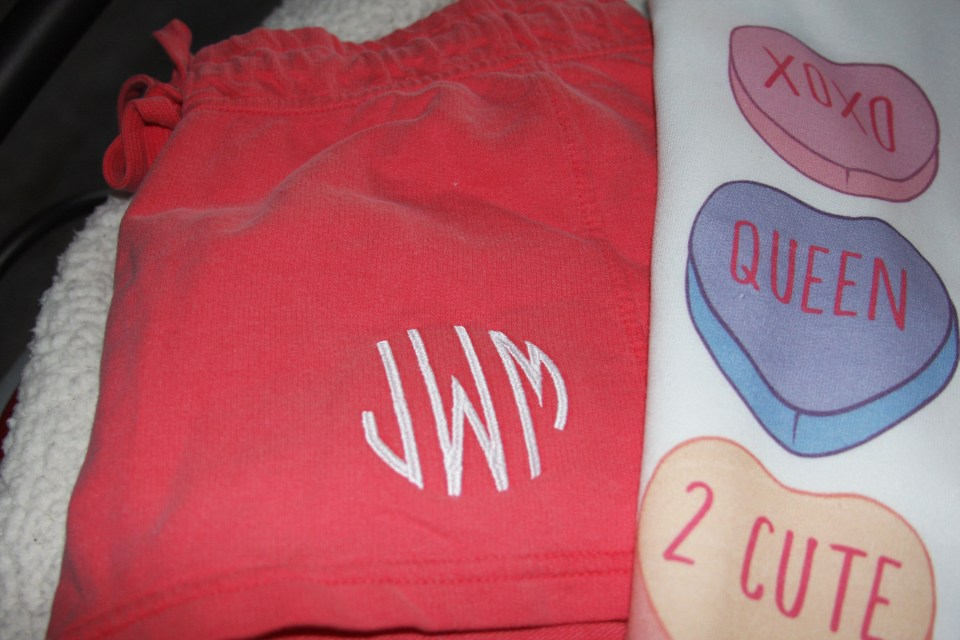 Candy Heart Pajamas 2