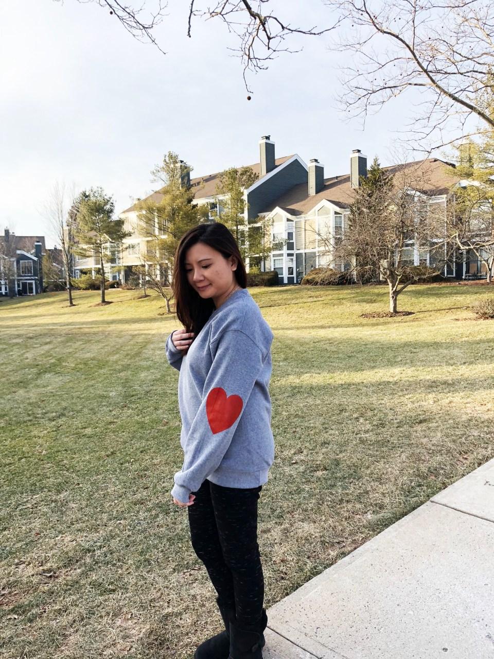 Elbow Heart Sweatshirt 3