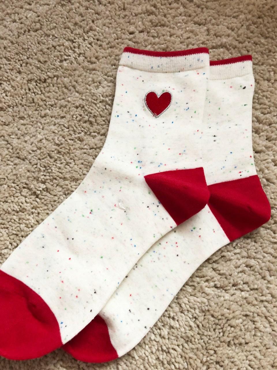 Heart Confetti Socks