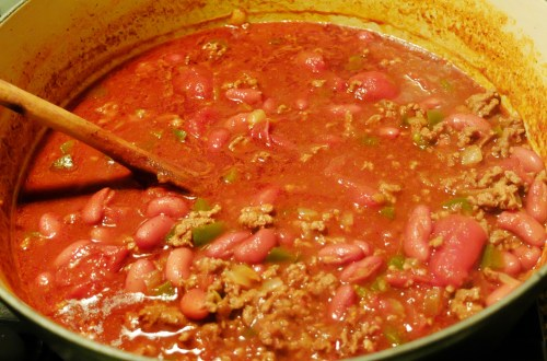 Meatloaf Mix Chili