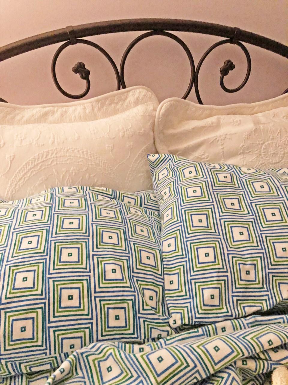Multicolor Matrix Flannel Sheet