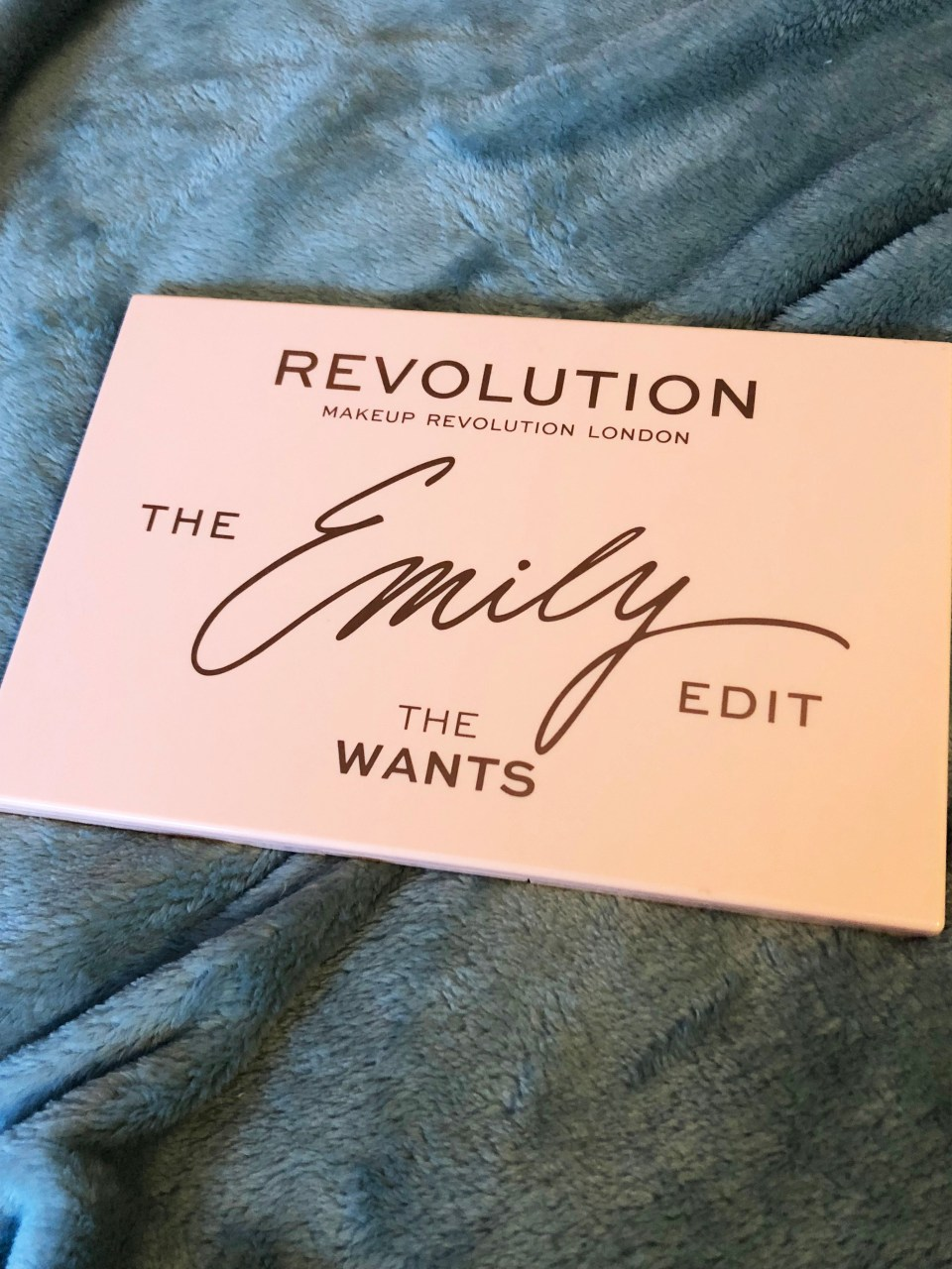 The Emily Edit - The Wants Palette