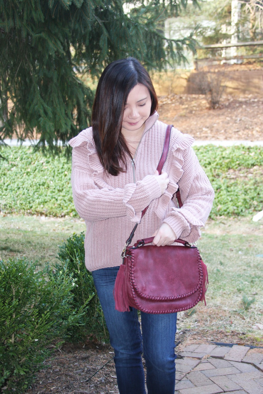 Whip Stitch Saddle Bag 4