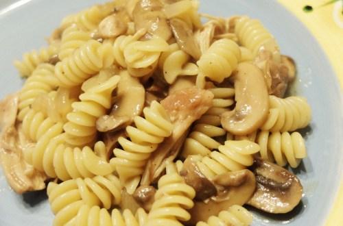 Chicken Marsala Ragout + Rotini