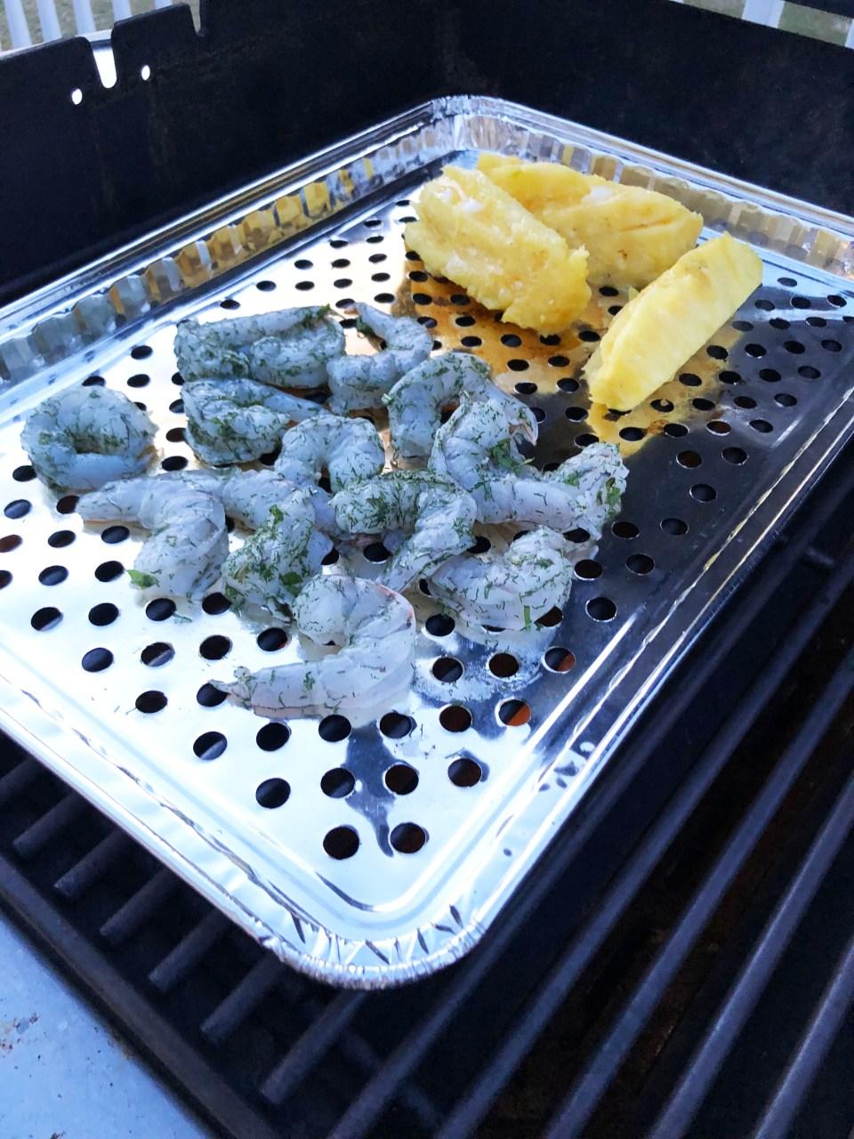 Grilled Shrimp & Pineapple 1
