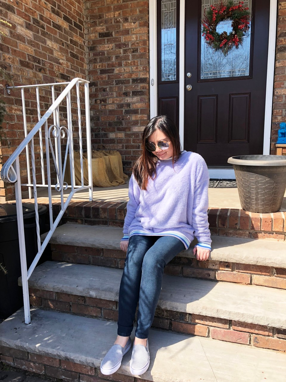 Pastel Orchid Cozy Sweater 13