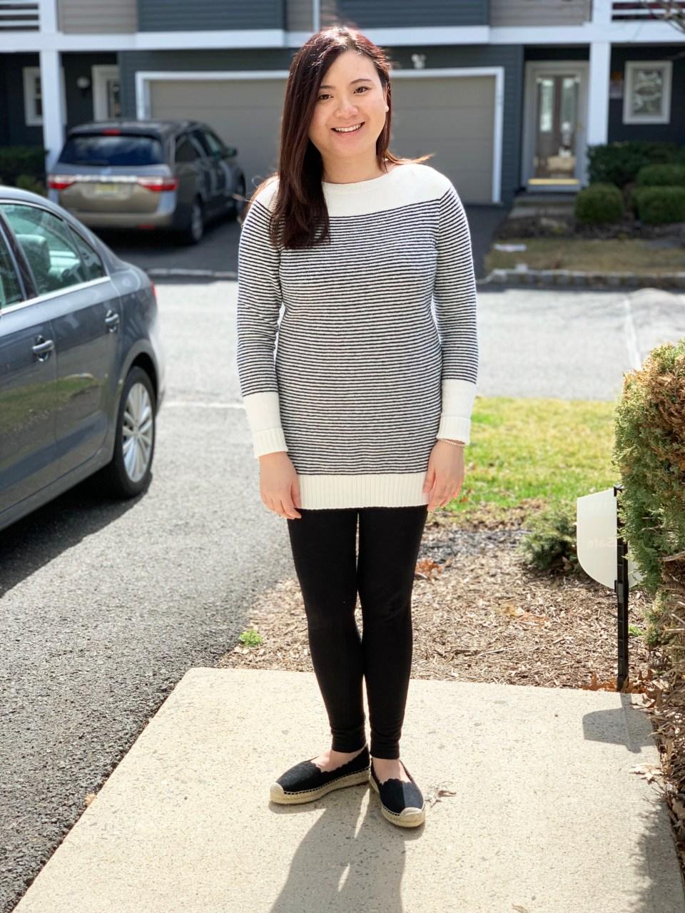 Skinny Stripe Sweater 2