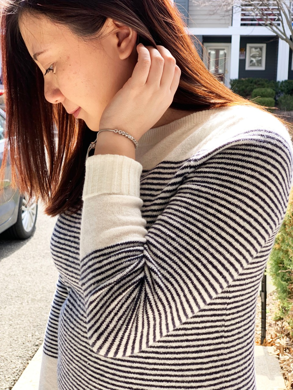 Skinny Stripe Sweater 9
