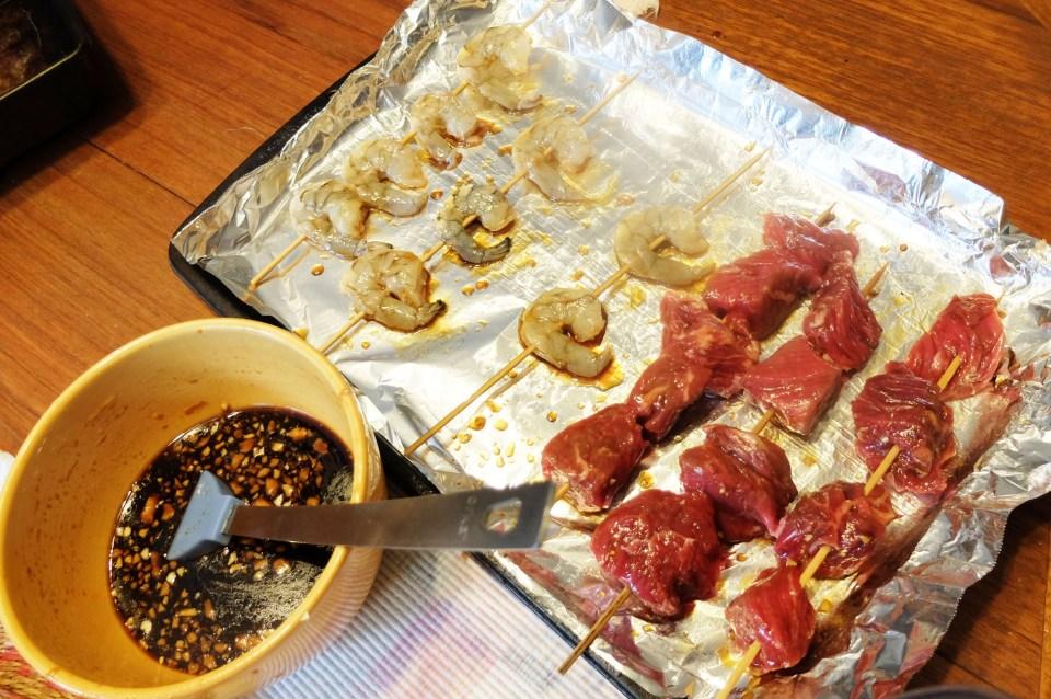Steak & Shrimp Whiskey Teriyaki