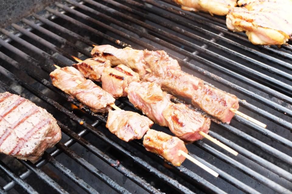 Steak & Shrimp Whiskey Teriyaki 1