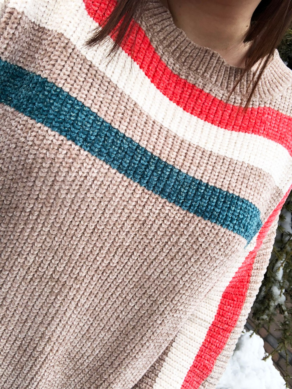 Striped Shimmer Sweater 10