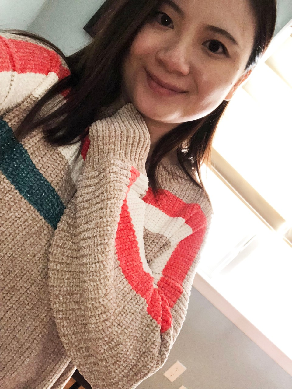 Striped Shimmer Sweater 13