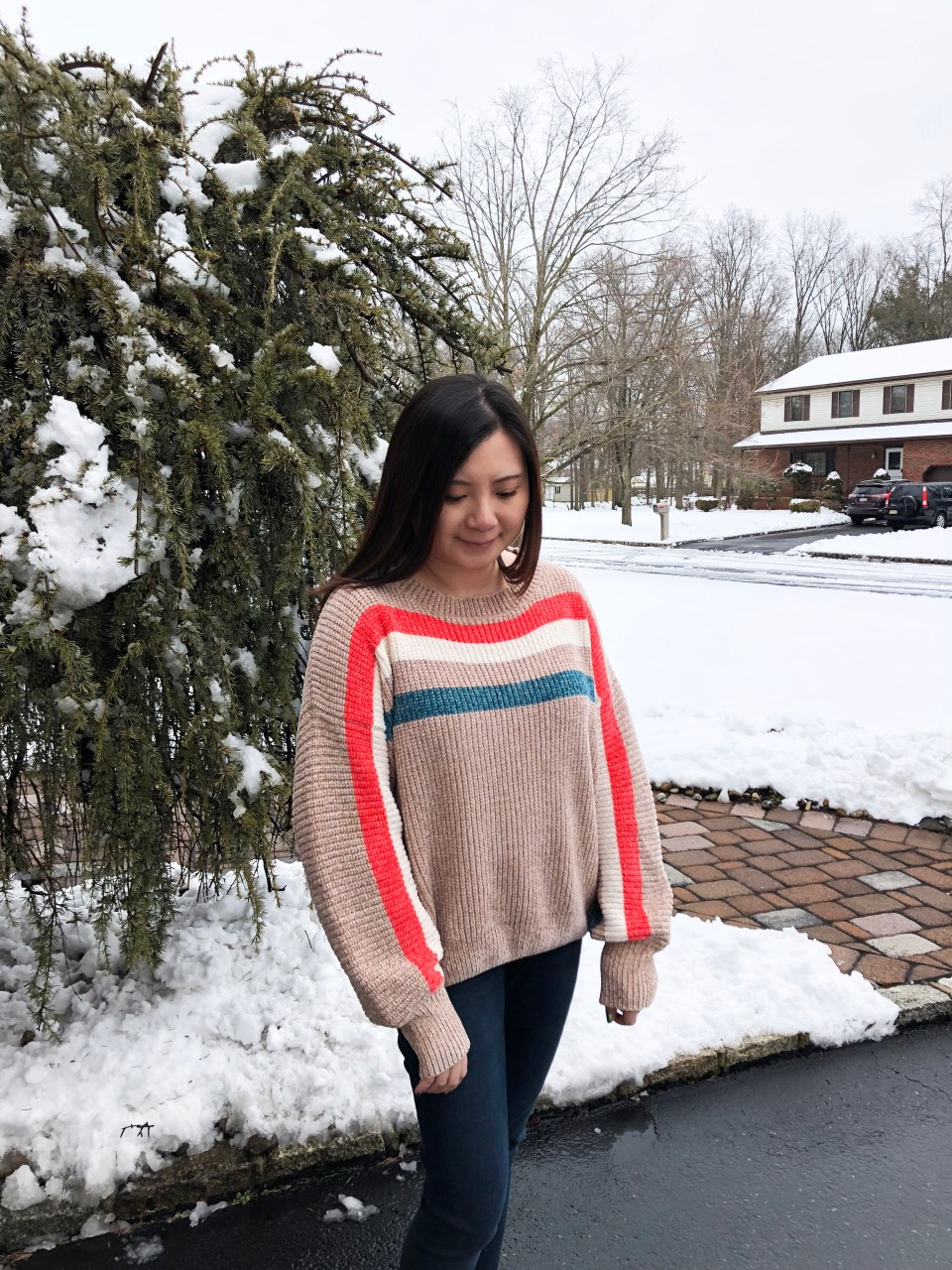 Striped Shimmer Sweater 9