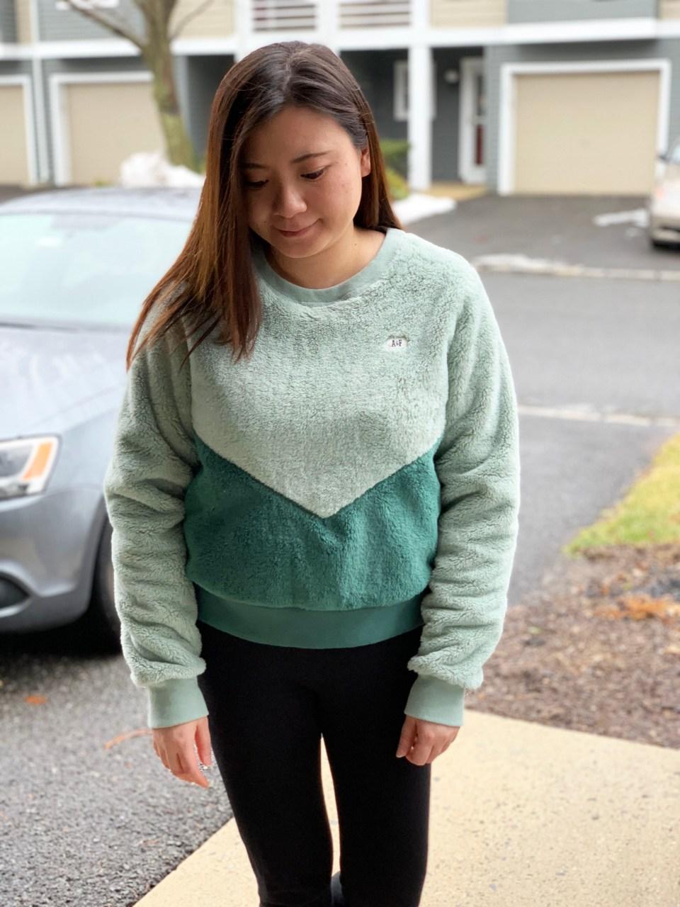 Two-Toned Green Sherpa 8
